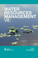 Cover image for Water resources management VII