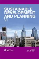 Cover image for Sustainable development and planning VI