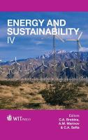 Cover image for Energy and sustainability IV