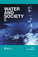 Cover image for Water and society II