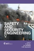 Cover image for Safety and security engineering V