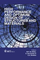 Cover image for High performance and optimum design of structures and materials