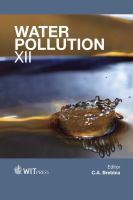 Cover image for Water pollution XII