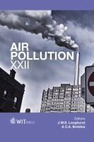 Cover image for Air pollution XXII