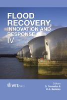 Cover image for Flood recovery, innovation and response IV