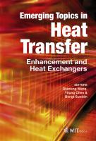 Cover image for Emerging topics in heat transfer : enhancement and heat exchangers