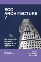 Cover image for Eco-architecture V : harmonisation between architecture and nature