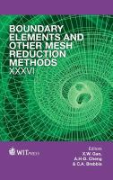 Cover image for Boundary elements and other mesh reduction methods XXXVI