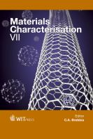 Cover image for Materials Characterisation VII