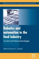 Cover image for Robotics and automation in the food industry : current and future technologies