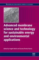 Cover image for Advanced membrane science and technology for sustainable energy and environmental applications