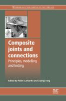 Cover image for Composite joints and connections : principles, modelling and testing