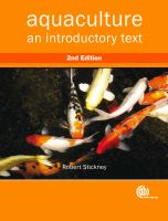 Cover image for Aquaculture : an introductory text
