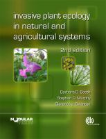 Cover image for Invasive plant ecology in natural and agricultural systems