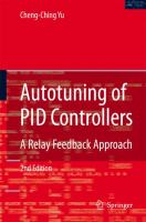 Cover image for Autotuning of PID controllers : a relay feedback approach