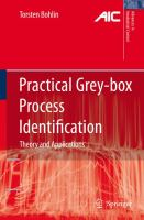 Cover image for Practical grey-box process identification : theory and applications