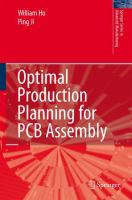 Cover image for Optimal Production Planning for PCB Assembly