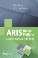 Cover image for ARIS Design Platform Getting Started with BPM