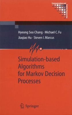 Cover image for Simulation-based algorithms for Markov decision processes