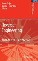 Cover image for Reverse engineering : an industrial perspective