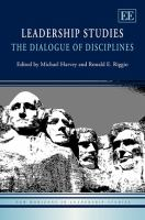 Cover image for Leadership studies : the dialogue of disciplines