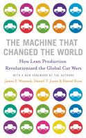 Cover image for THE MACHINE THAT CHANGED THE WORLD