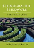 Cover image for Ethnographic fieldwork : a beginner's guide