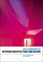 Cover image for The handbook of interior architecture and design
