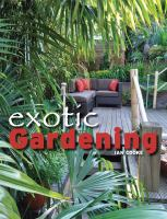 Cover image for Exotic gardening