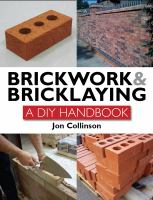 Cover image for Brickwork & bricklaying : a DIY handbook