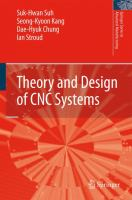 Cover image for Theory and design of CNC systems
