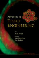 Cover image for Advances in tissue engineering