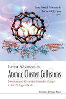 Cover image for Latest advances in atomic cluster collisions : structure and dynamics from the nuclear to the biological scale