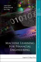 Cover image for Machine learning for financial engineering