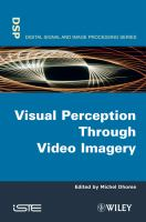 Cover image for Visual perception through video imagery