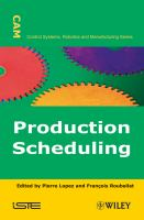 Cover image for Production scheduling