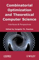 Cover image for Combinatorial optimization and theorical computer science : interfaces and perspectives