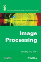 Cover image for Image processing