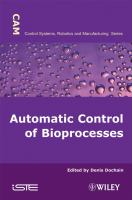 Cover image for Bioprocess control