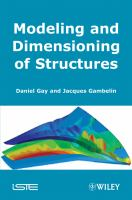 Cover image for Modeling and dimensioning of structures : a practical approach