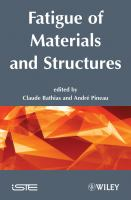 Cover image for Fatigue of materials and structures : fundamentals
