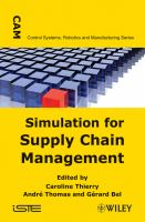 Cover image for Simulation for supply chain management