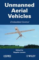 Cover image for Unmanned aerial vehicles : embedded control