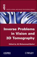 Cover image for Inverse problems in vision and 3D tomography