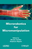 Cover image for Microrobotics for micromanipulation