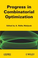 Cover image for Progress in combinatorial optimization