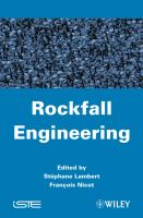Cover image for Rockfall engineering