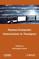 Cover image for Human-computer interactions applications in transport