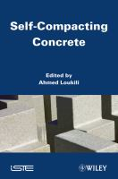 Cover image for Self-compacting concrete