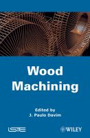 Cover image for Wood machining